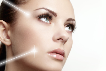 laser facial treatment